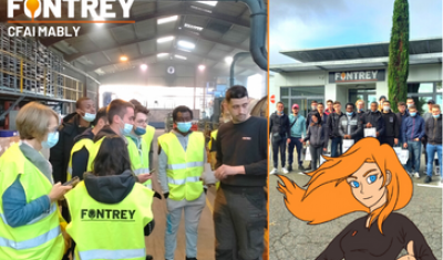 VISIT TO THE CFAI OF MABLY, a local machining training centre - FONTREY