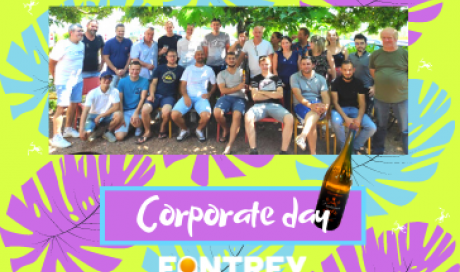 CORPORATE DAY FOR FONTREY WITH ALL TEAM, FOUNDRY, MACHINING AND OFFICE