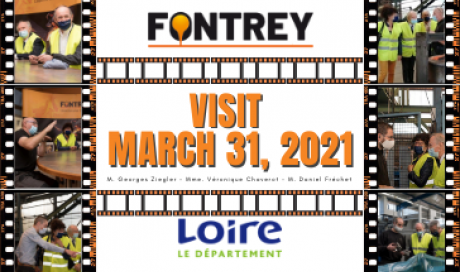 🔶 VISIT OF THE ELECTED REPRESENTATIVES OF THE LOIRE 🔶 - FONTREY