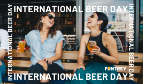 INTERNATIONAL BEER DAY - FONTREY -  CAST IRON FOUDRY IN FRANCE