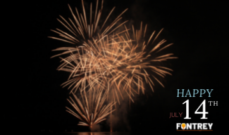 HAPPY JULY 14TH BY FONTREY, your iron cast foundry for professionals