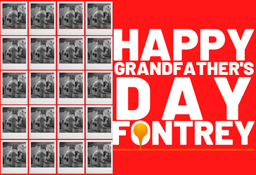 HAPPY GRANDPA'S DAY - FONTREY, your iron cast foundry with three generations