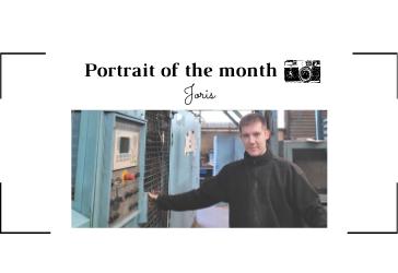   THE PORTRAIT OF THE MONTH   - Joris -  Casting Operator  - FONTREY