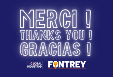 THANKS - GLOBAL INDUSTRIE 2021 - FONTREY, YOUR IRON CAST FOUNDRY