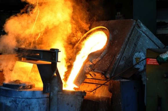 Cast iron melting in Roanne