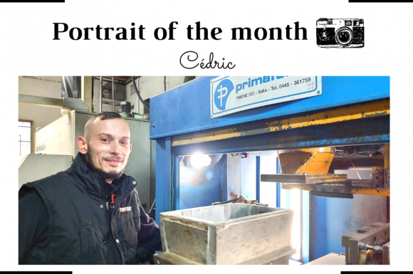   THE PORTRAIT OF THE MONTH   - Cédric - Core Operator