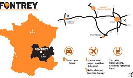 FONTREY at the Auvergne Rhône-Alpes center!