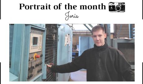 | THE PORTRAIT OF THE MONTH | - Joris -  Casting Operator  - FONTREY